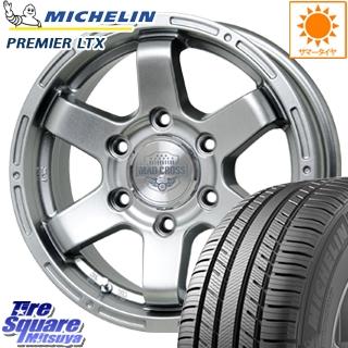 ミシュラン Premier LTX プレミア 正規品 サマータイヤ 265/65R17 HotStuff MAD CROSS MC-76 CAP付 ホイールセット 4本 17インチ 17 X 7.5 +28 6穴 139.7