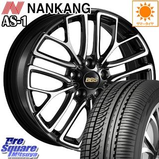 NANKANG TIRE ナンカン AS-1 サマータイヤ 235/45R18 BBS RE-X 鍛造1ピース ホイールセット 4本 18インチ 18 X 8.5 +42 5穴 114.3