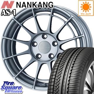 【3月10日限定Rカードde最大46倍!】 NANKANG TIRE ナンカン AS-1 サマータイヤ 225/50R17 ENKEI Racing Revolution NT03RR ホイールセット 4本 17 X 8.0J +48 5穴 100