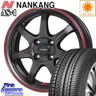 NANKANG TIRE ナンカン AS-1 サマータイヤ 165/50R16 HotStuff クロススピードハイパーエディション CR7 4本 ホイールセット 16インチ 16 X 5 +45 4穴 100