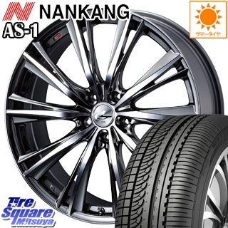 NANKANG TIRE ナンカン AS-1 サマータイヤ 215/45R17 WEDS 33885 レオニス WX ウェッズ Leonis ホイールセット 4本 17インチ 17 X 7 +42 5穴 114.3