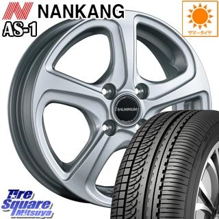 NANKANG TIRE ナンカン AS-1 サマータイヤ 165/55R15 ブリヂストン BALMINUM ZR5 ホイールセット 4本 15 X 4.5 +48 4穴 100