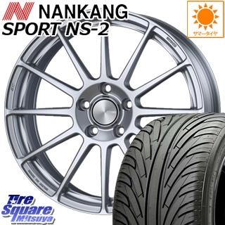 【3月10日限定Rカードde最大46倍!】 NANKANG TIRE ナンカン NS-2 サマータイヤ 215/40R18 ENKEI PerformanceLine PF03 ホイールセット 4本 18 X 7.0J +45 5穴 114.3