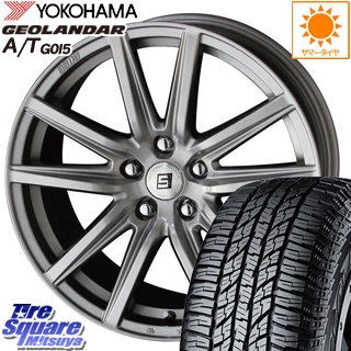 YOKOHAMA ヨコハマ ジオランダー AT A/T G015 サマータイヤ 215/60R16 KYOHO SEIN-SS ザインSS ホイールセット 4本 16インチ 16 X 6.5 +53 5穴 114.3