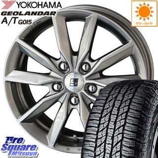 CR-V KYOHO SEIN SV ザインSV ホイールセット 15インチ 15 X 6.0J +53 5穴 114.3YOKOHAMA ヨコハマ ジオランダー AT A/T G015 サマータイヤ 205/70R15