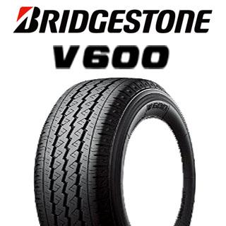 【5/15は最大37倍】 【2本以上からの販売】ブリヂストン V600 サマータイヤ LT165/*R13 8PR 1本価格 タイヤのみ サマータイヤ 13インチ