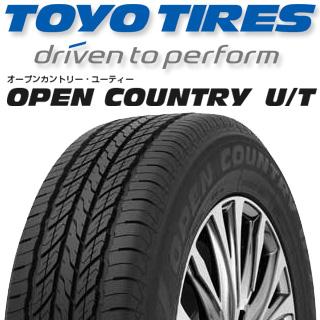 TOYOTIRES トーヨー オープンカントリー UT OPEN COUNTRY U/T サマータイヤ 225/55R18 4本セット タイヤのみ サマータイヤ 18インチ ゴムバルブサービス特典付き!
