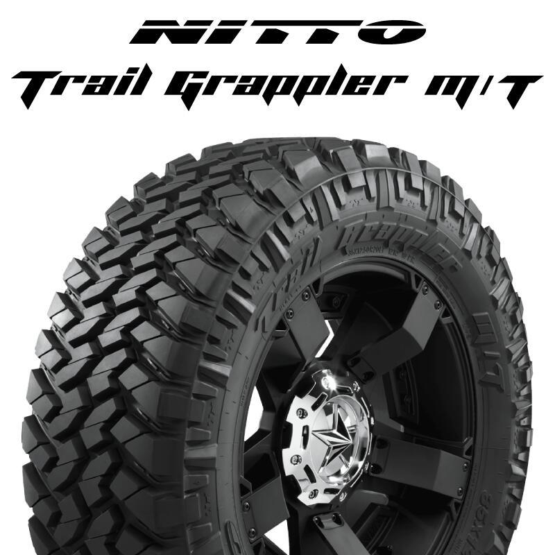 【5/15は最大37倍】 【2本以上からの販売】NITTO ニットー トレイルグラップラー TRAIL GRAPPLER サマータイヤ 37X/12.50R20 1本価格 タイヤのみ サマータイヤ 20インチ