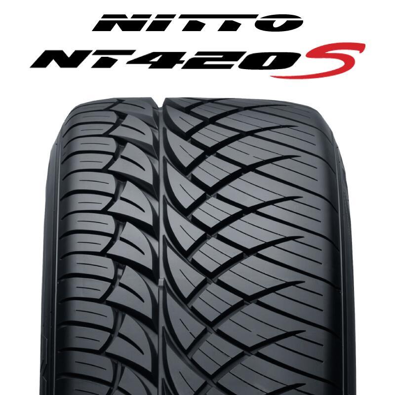 【予告!3月18日Rカードde最大P32倍!】【2本以上で送料無料】NITTO ニットー NT420S サマータイヤ 265/35R22 1本価格 タイヤのみ サマータイヤ 22インチ