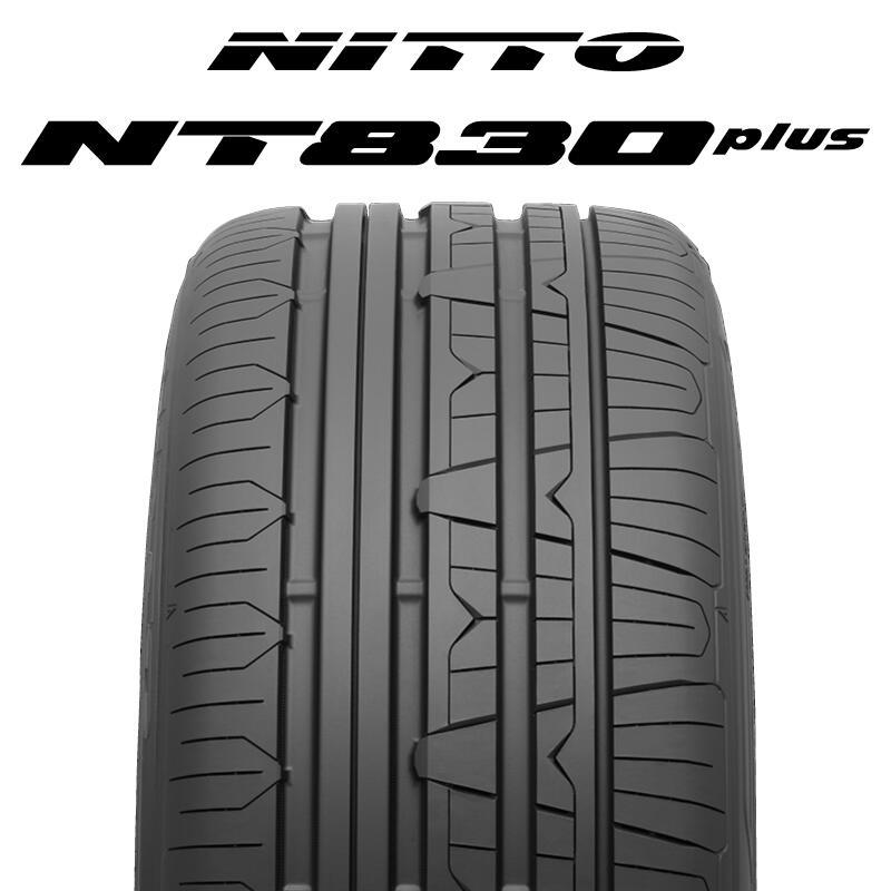 【5/15は最大37倍】 【2本以上からの販売】NITTO ニットー NT830 plus サマータイヤ 235/45R18 1本価格 タイヤのみ サマータイヤ 18インチ