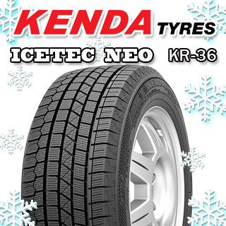 KENDA ICETEC NEO KR36 2018年製 スタッドレスタイヤ 165/70R14 4本セット タイヤのみ スタッドレス 14インチ
