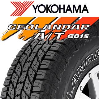 【5/20は最大26倍】 【2本以上からの販売】YOKOHAMA ヨコハマ ジオランダー AT A/T G015 ホワイトレター LT規格 サマータイヤ 265/70R17 1本価格 タイヤのみ サマータイヤ 17インチ