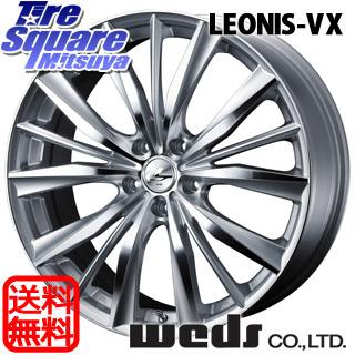 DUNLOP ダンロップ GRANDTREK PT3 グラントレック サマータイヤ 235/60R18 WEDS ウェッズ Leonis レオニス VX ホイールセット 4本 18インチ 18 X 8 +42 5穴 114.3