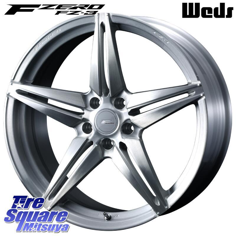 【6/20は最大28倍】 ムラーノ WEDS F ZERO FZ-3 FZ3 鍛造 FORGED ホイールセット18インチ 18 X 7.5J +48 5穴 114.3ミシュラン Premier LTX プレミア 正規品 サマータイヤ 235/65R18