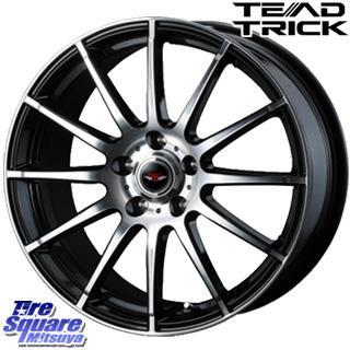 TOYOTIRES トーヨー プロクセス T1 スポーツ PROXES サマータイヤ 205/55R16 WEDS ウェッズ TEAD TRICK テッドトリック ホイールセット 4本 16インチ 16 X 6.5 +53 5穴 114.3