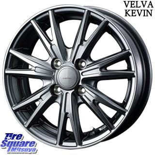 ミシュラン エナジーセイバー ESC 限定品特価 サマータイヤ 155/65R14 WEDS ウェッズ ヴェルヴァ KEVIN(ケビン) ホイールセット 4本 14インチ 14 X 4.5 +45 4穴 100