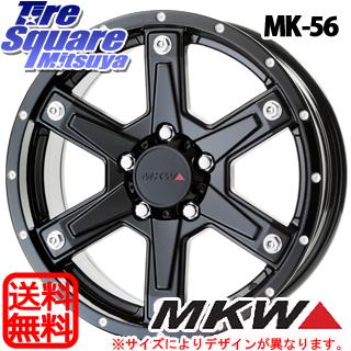 【予告5/10 Rカードで最大46倍!】 ジムニー MKW MK-56 ミルドブラック ホイールセット 16インチ 16 X 5.5J +22 5穴 139.7MONSTA TIRE MUD WARRIOR M/T MT ホワイトレター 215/70R16