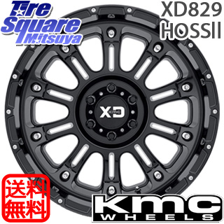 ラングラー KMC XD829 HOSS2 ※インセット-12 ホイールセット 20インチ 20 X 9.0J +0 5穴 127 NITTO ニットー Ridge Grappler サマータイヤ 37X/12.50R20