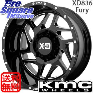 【6/20は最大28倍】 ラングラー KMC XD836 Fury ホイールセット 20インチ 20 X 9.0J +0 5穴 127NITTO ニットー Ridge Grappler サマータイヤ 37X/12.50R20