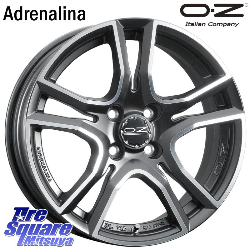 新しいブランド コペン YOKOHAMA ヨコハマ DNA エスドライブ Sdrive ES03 サマータイヤ 165/45R16 OZ Adrenalina 16 X 5.0J +45 4穴 100, ハナミガワク da8e7c34
