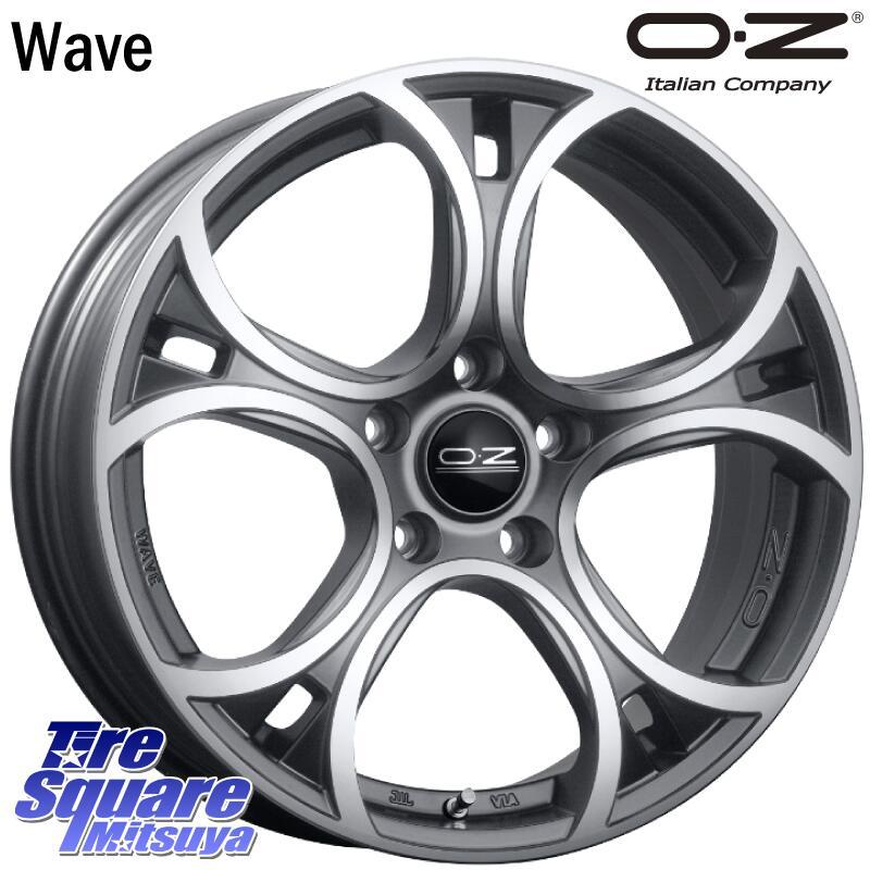 【数量限定】 【Rカードでポイント最大21倍 2月25日限定】 ミシュラン CROSSCLIMATE クロスクライメイト + 正規品 オールシーズンタイヤ 215/55R17 OZ Wave 17 X 7.5(VW) +50 5穴 112, プチママ 7fd974a0
