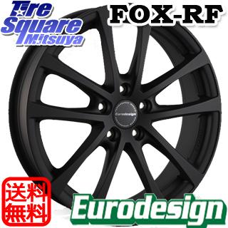 【楽天ランキング1位】 【3月10日限定Rカードde最大46倍!】 ミシュラン CROSSCLIMATE クロスクライメイト + 正規品 オールシーズンタイヤ 225/40R18 阿部商会 EuroDesign FOX-RF ホイールセット 4本 18インチ 18 X 7.5J(VW) +50 5穴 112, コシジマチ 6eee3b81
