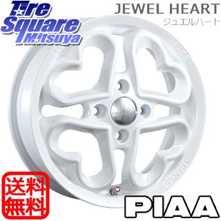 KENDA ICETEC NEO KR36 2018年製 スタッドレス スタッドレスタイヤ 155/55R14 PIAA JEWEL HEART 14 X 4.5 +45 4穴 100