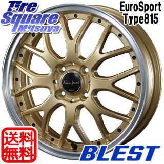 【8/5はお盆明け出荷セール】 フィールダー ノート BLEST Eurosport Type815 ホイールセット 16インチ 16 X 6.0J +40 4穴 100KENDA ケンダ VEZDA ECO KR30 サマータイヤ 195/55R16