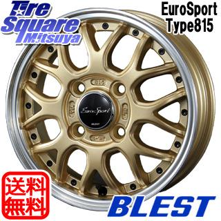 【6/10は最大P45倍】 TOYO DELVEX デルベックス 934 軽トラ スタッドレスタイヤ LT145/80R12 80*78 BLEST Eurosport Type815 ホイールセット 12インチ 12 X 4.0J +43 4穴 100