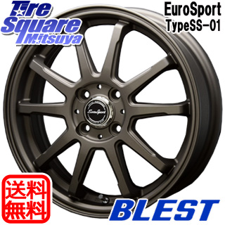 【6/10は最大P45倍】 コペン BLEST Eurosport TypeSS-01 ホイールセット 16インチ 16 X 5.0J +45 4穴 100WINRUN WINRUN R330 サマータイヤ 165/45R16