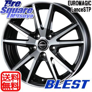 【6/10は最大P45倍】 スイフト スイフトスポーツ BLEST EUROMAGIC Lance STP ホイールセット 16インチ 16 X 6.5J +48 5穴 114.3WINRUN WINRUN R330 サマータイヤ 185/55R16