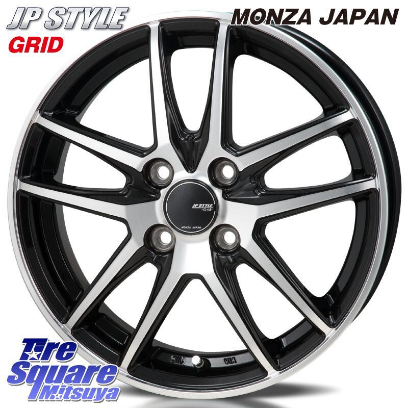 【5/20は最大26倍】 MONZA JP STYLE GRID ホイール セット 14インチ 14 X 4.5J +45 4穴 100TOYOTIRES トーヨー タイヤ SD-K7 軽自動車 国内メーカー サマータイヤ 155/65R14