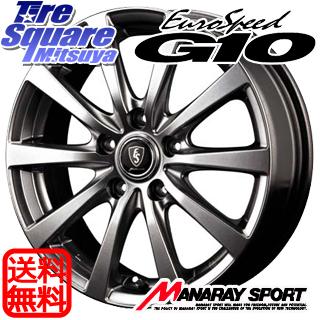 ミシュラン PILOT SPORT4 輸入品 サマータイヤ 205/55R16 MANARAY EUROSPEED ユーロスピード G10 ホイールセット 4本 16インチ 16 X 6.5 +42 5穴 114.3