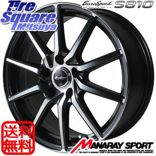 NITTO ニットー NT830 plus サマータイヤ 215/55R17 MANARAY Euro Speed S810 ホイールセット 17インチ 17 X 7.0J +50 5穴 100