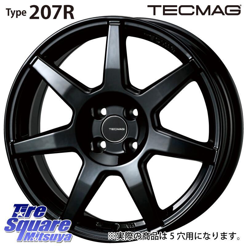 【3月10日限定Rカードde最大46倍!】 YOKOHAMA ヨコハマ BluEarth-GT AE51 ブルーアース サマータイヤ 215/45R16 TECMAG Type 207R 16 X 6.5J(VW) +38 5穴 100