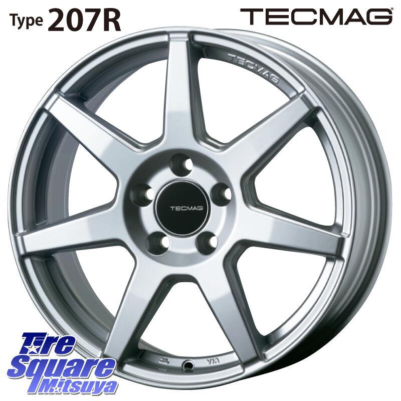 【6/15は最大26倍】 TECMAG Type 207R 16 X 7.0J(MB) +48 5穴 112KENDA ケンダ VEZDA ECO KR30 サマータイヤ 205/55R16