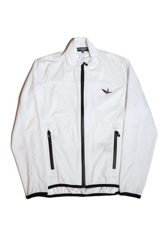 1PIU1UGUALE3 GOLF ウノピゥウノウグァーレトレ MRB-383 WIND JACKET ウィンドジャケット WHITE ホワイト サイズ S M L アパレル 長袖 ゴルフウェア メンズウエア Men's 送料無料