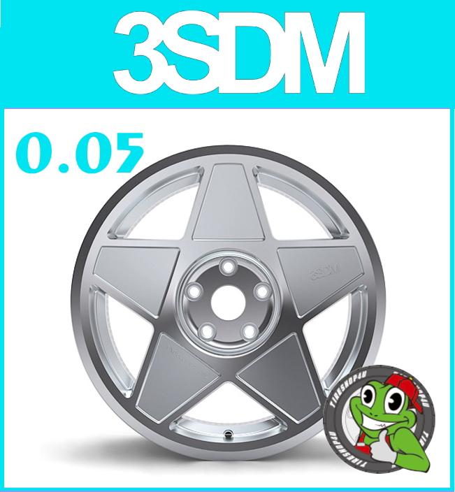 <title>≪送料無料≫スタンス系の定番 3SDM 正規輸入品 新品アルミホイール1本価格 19インチ3SDM 0.05 19×9.5J 5 100 +35シルバーカットフェイス スリーエスディエム 国内正規輸入品 代引き不可 国産車 VW AUDI</title>