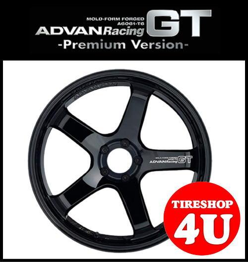 20インチADVAN Racing GT Premium Version 20×11.0J 5/114.3 +5レーシンググロスブラック&マシニングロゴ(プレミアムバージョン) アドバンレーシング 新品アルミホイール1本価格 MOLD-FORM FORGED