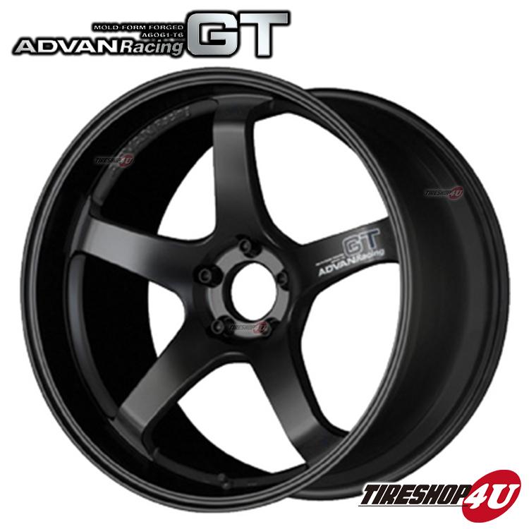 20インチADVAN Racing GT 20×9.0J 5/120 +17 HUB:72.5φSGB(セミグロスブラック) アドバンレーシング 新品アルミホイール1本価格 MOLD-FORM FORGED BMW