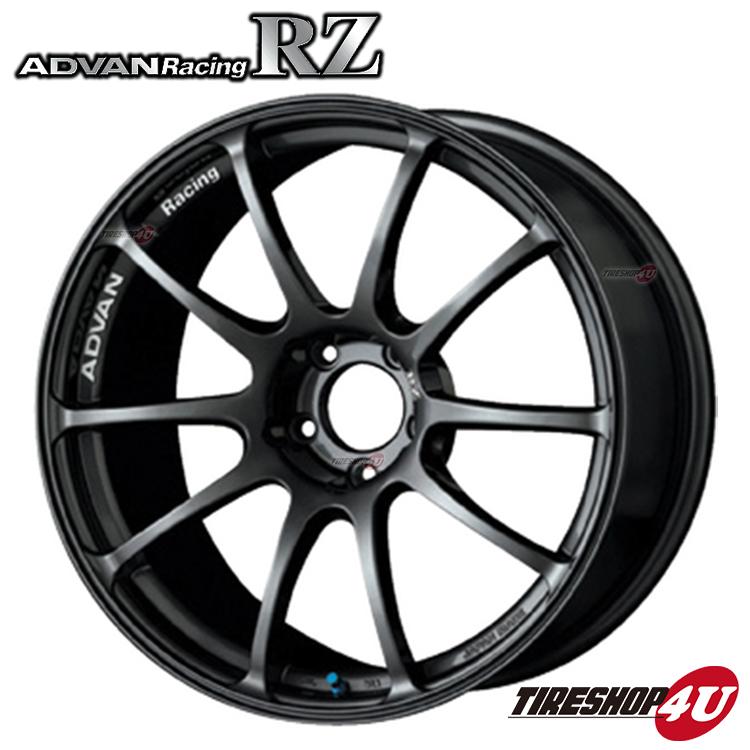 16インチADVAN Racing RZ 16×8.0J 4/100 +38 HUB:63φDG(ダークガンメタリック) アドバンレーシング 新品アルミホイール1本価格 フローフォーミング