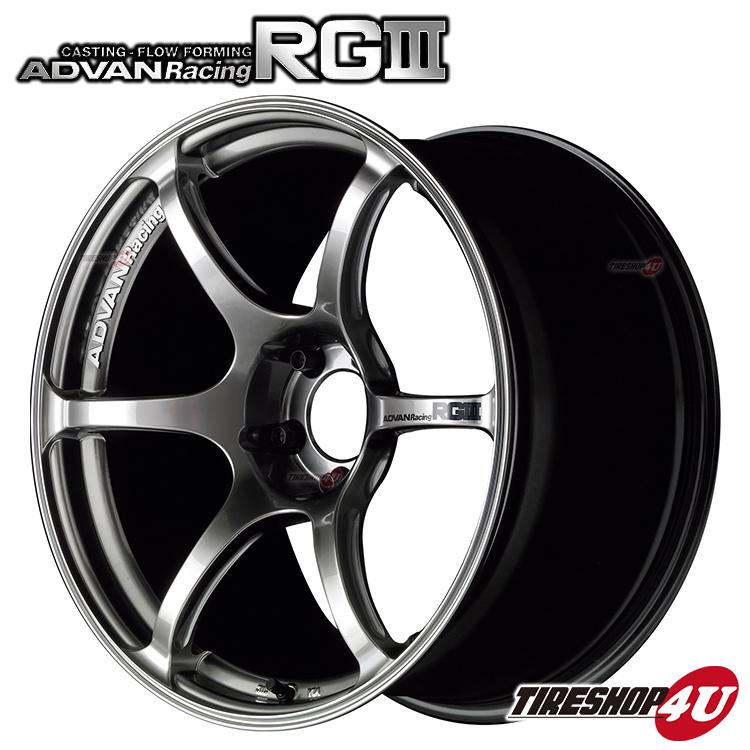 17インチADVAN Racing RG3 17×9.0J 5/114.3 +45 HUB:73φRHB(レーシングハイパーブラック) アドバンレーシング 新品アルミホイール1本価格