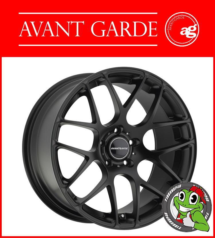 86025e48419 TIRE SHOP 4U Rakutenichiba shop: 19 inches of AVANT GARDE WHEELS M310 19 X  9.5J 5H-112 ET40 HUB: 66.6ΦMatte Black VW/Audi/BENZ avant-garde wheel AG  WHEELS ...
