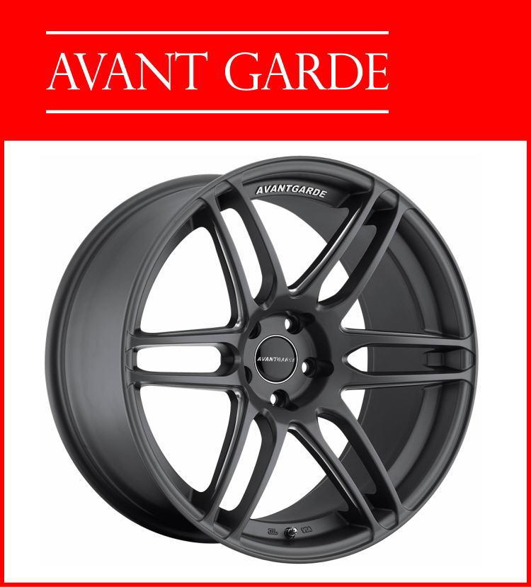 19インチAVANT GARDE WHEELS M368 19×8.5J 5H-114.3 ET35 HUB:73.1ΦDolphie Grey 国産車 アヴァンギャルドホイール AG WHEELS 新品アルミホイール単品1本価格