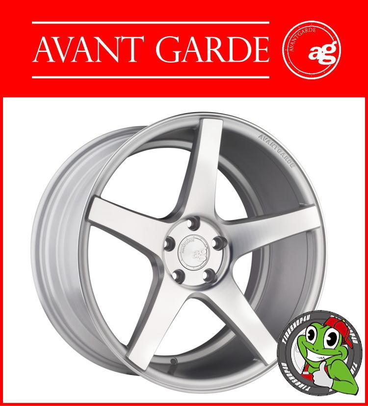 19インチAVANT GARDE WHEELS M550 19×8.5J 5H-112 ET35 HUB:66.6ΦSatin Silver VW/Audi/BENZ アヴァンギャルドホイール AG WHEELS 新品アルミホイール単品1本価格