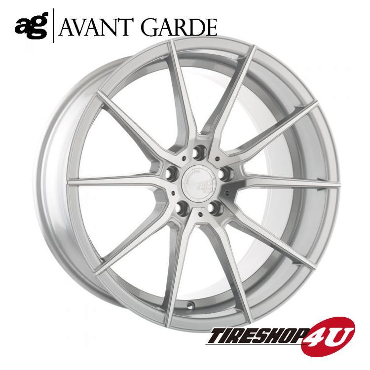 22インチ メルセデスベンツ GLクラス/GLSクラス(W166)ag wheels M652 22×9.0J シルバーマシン/グロスブラック/マットブラック/ブロンズ/ガンメタ(AVANTGARDE)当社指定輸入タイヤ 285/40R22 新品タイヤホイールセット4本価格