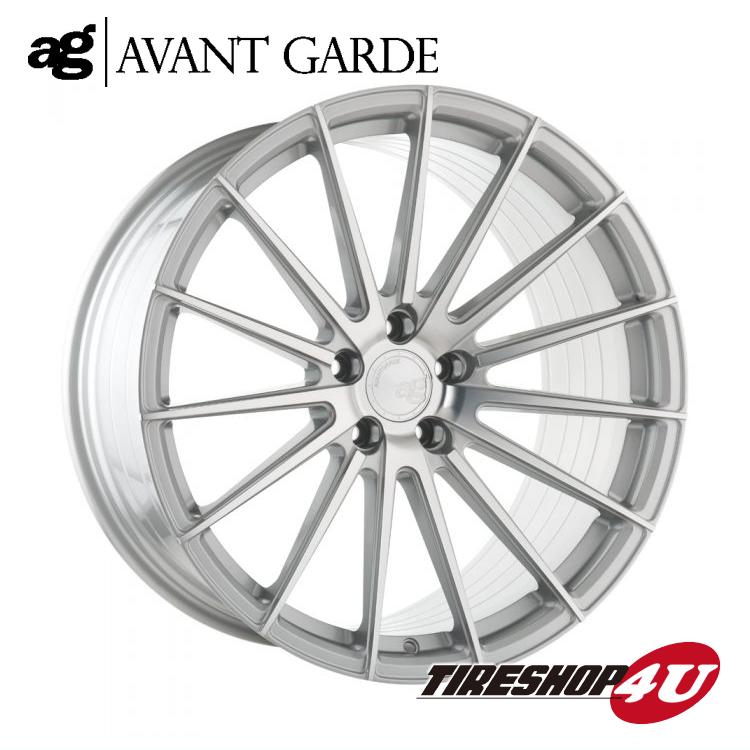 20インチ フォード マスタング ag wheels M615 20×8.5J &10.0J シルバーマシン/グロスブラック/マットブラック/ブロンズ/ガンメタ(AVANTGARDE)当社指定輸入タイヤ 245/35R20 & 275/30R20 新品タイヤホイールセット4本価格