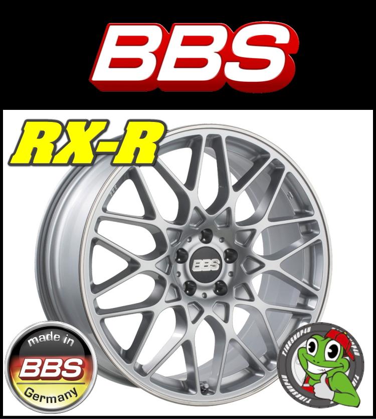 20インチホイール単品BBS RX-R 20×9.5J 5/112 +40 HUB:82φ ブリリアントシルバー・リムプロテクター鋳造1ピース Audi A4/A6 ベンツ Eクラス(W212)、Cクラス(W204) ※リア用新品アルミホイール単品1本価格