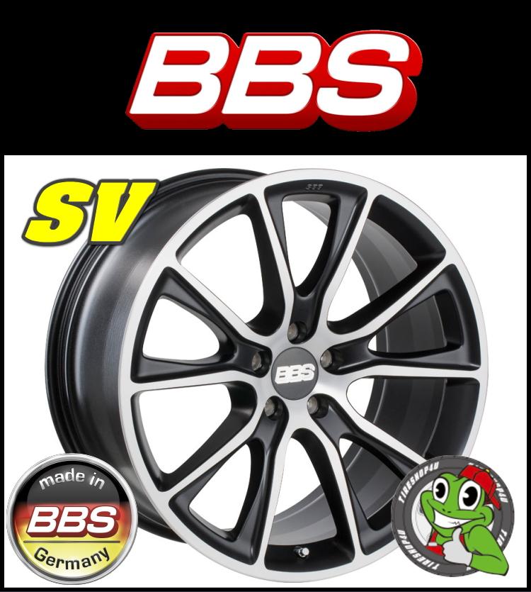 22インチホイール単品BBS SV 22×11.5J 5/120 +38 HUB:82φ サテンブラック・ダイヤモンドカット鋳造1ピース BMW X5(E70), X6(E71) リア用新品アルミホイール単品1本価格