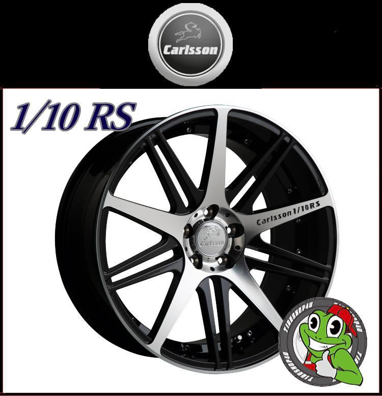 20インチレクサス GS350/GS250 クラウン Carlsson 1/10RS(カールソン) 20×8.5J&10.0J特撰ラジアルタイヤ 245/35R20 & 275/30R20 新品タイヤホイールセット4本価格 JWL規格適合品